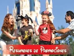 Resumen de promociones Disney