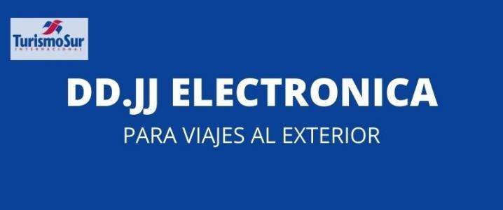 Viajes al Exterior: DDJJ Electronica