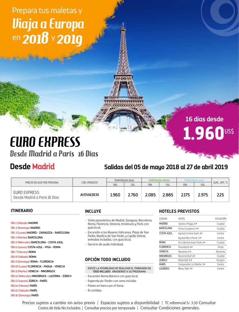 Descubre Europa con Carrusel Travel y Travelplan