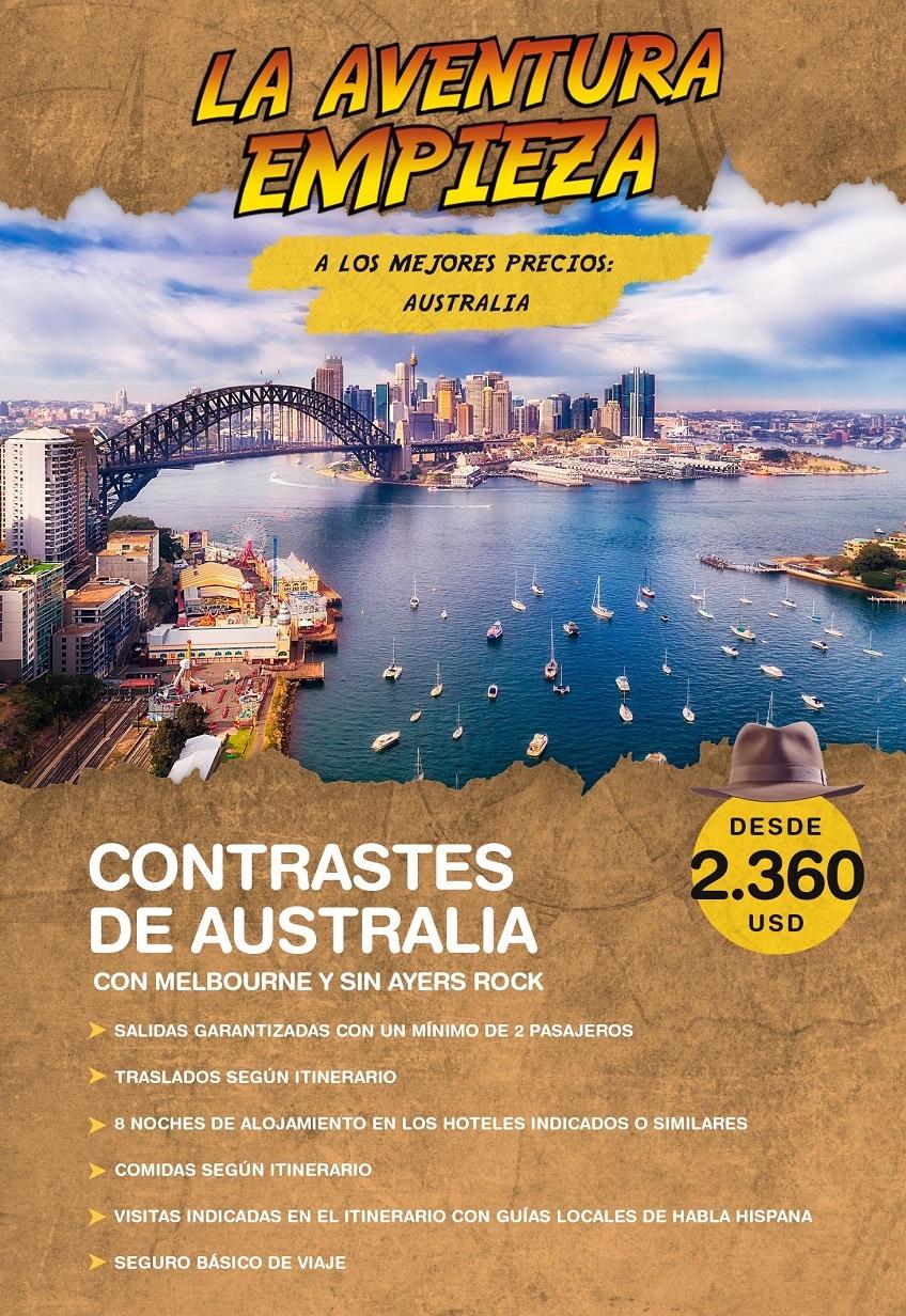 La aventura empieza en Australia con Carrusel travel y Special Tours