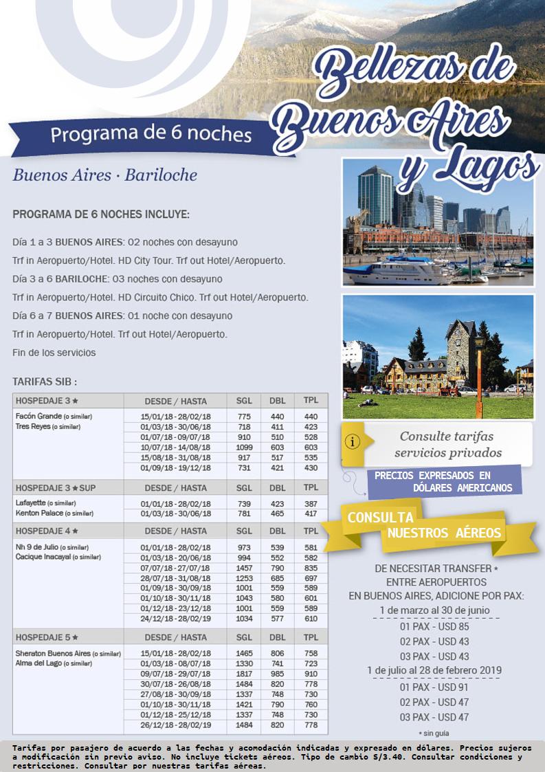 Descubre la belleza de Buenos Aires y los lagos de Bariloche con Carrusel Travel