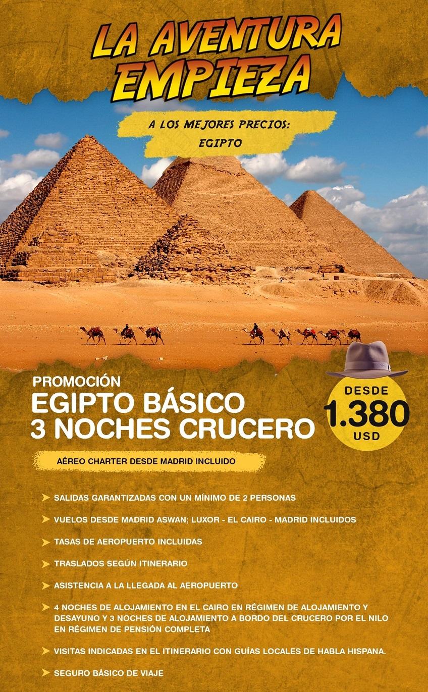 La aventura empieza en Egipto con Carrusel travel y Special Tours
