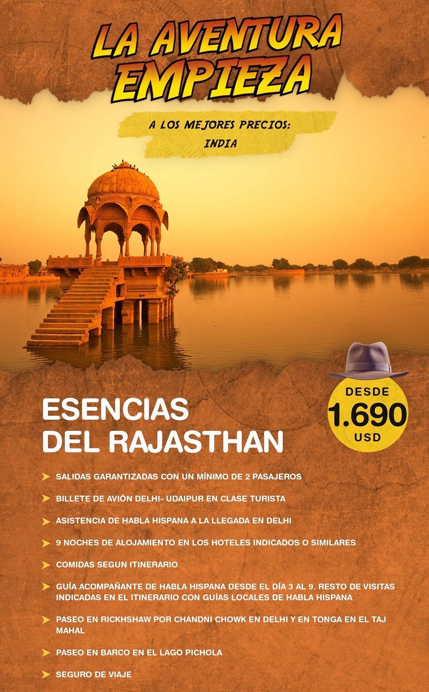 La aventura empieza en India con Carrusel travel y Special Tours