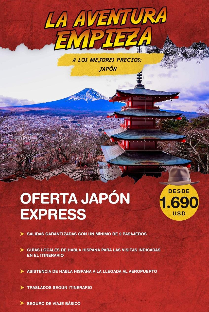 La aventura empieza en Japón con Carrusel travel y Special Tours