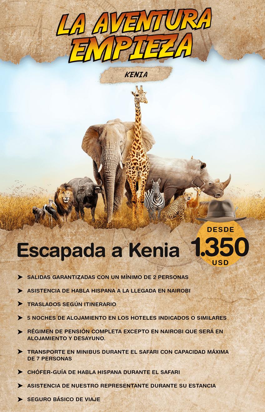 Descubre Kenia con Carrusel travel y Special Tours