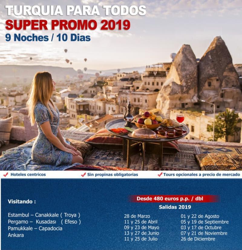 Turquía para todos 2019 con Carrusel Travel