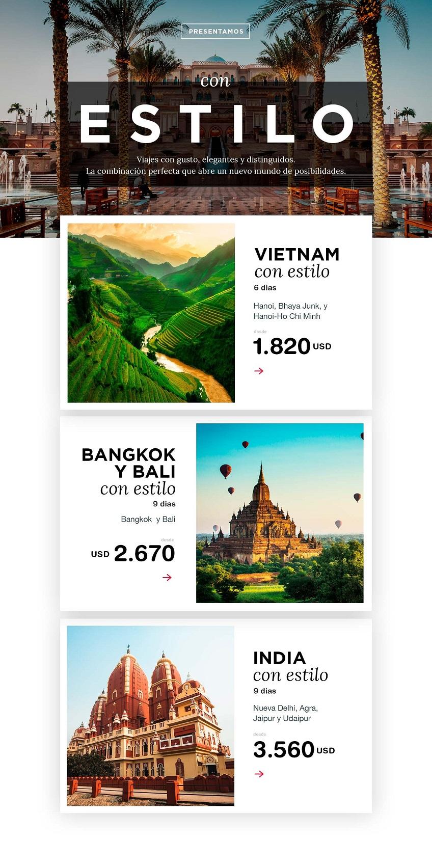 Viajes con estilo con Carrusel travel y Special Tours
