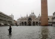 Problemas en Venecia por Inundaciones