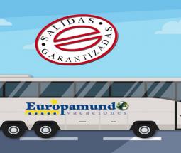 Ventajas Europamundo: SALIDAS GARANTIZADAS