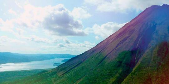 Ruta entre volcanes y cultura