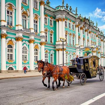 San Peterbursgo a Moscú