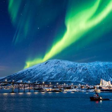 Tierras de las Auroras Borealis