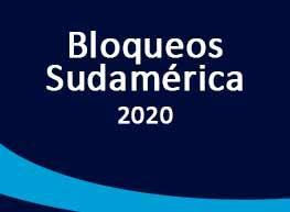 Bloqueos Sudamérica 2020