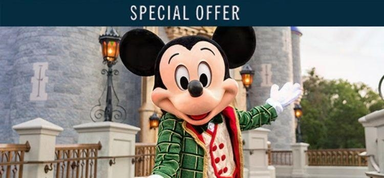 Walt Disney World Special Offer!!! Promotion 2021