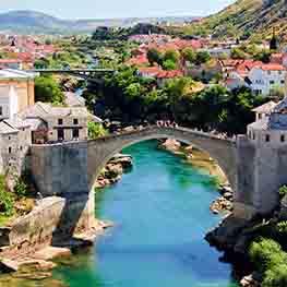 Croatia, Bosnia and Slovenia